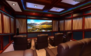 A Home Theater is Another Fantastic Way to Utilize A Spare Room