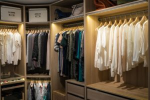 Have you thought about converting your spare room into a walk in closet?