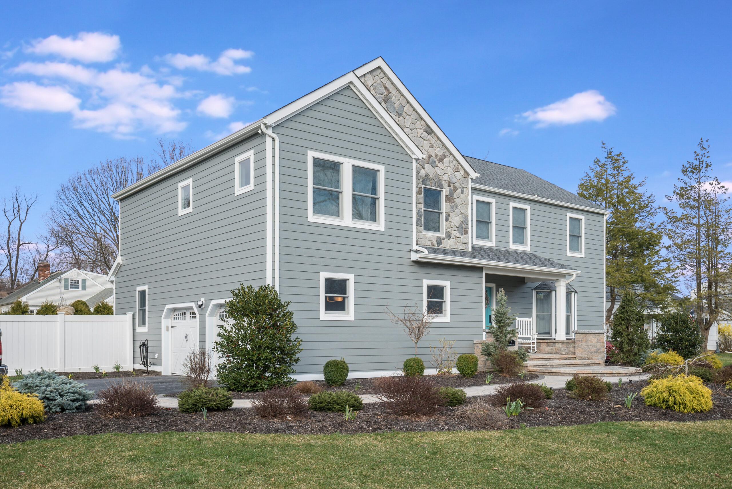 Renovated New Jersey home.
